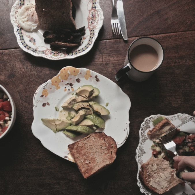 Patience Food: Poached Eggs & Avocado 1