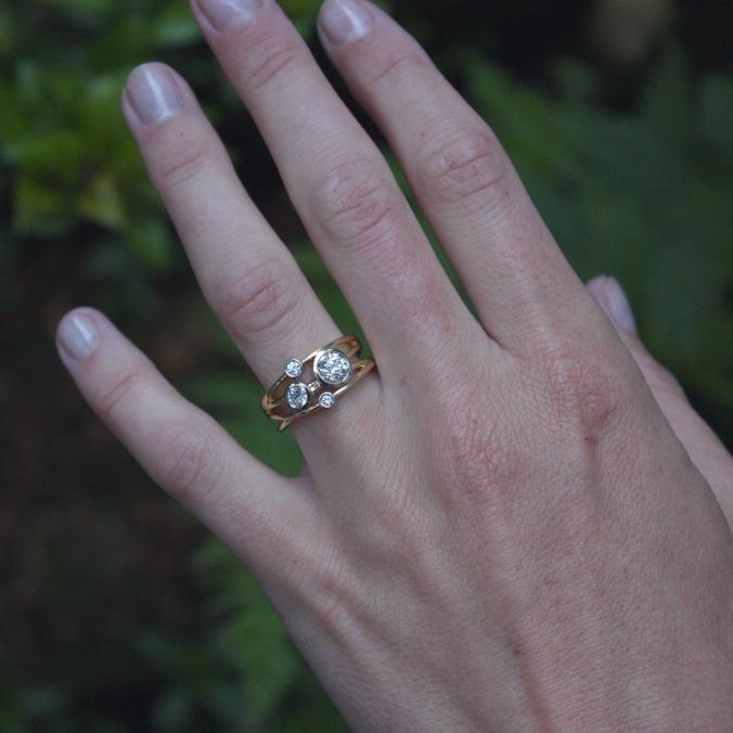 Patience Jewellery Bespoke Diamond Cocktail Ring (1)