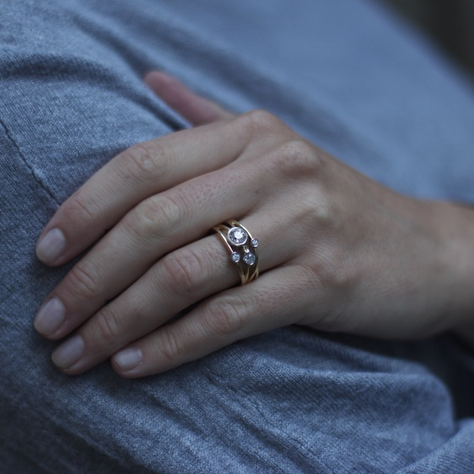 Patience Jewellery Bespoke Diamond Cocktail Ring (3)