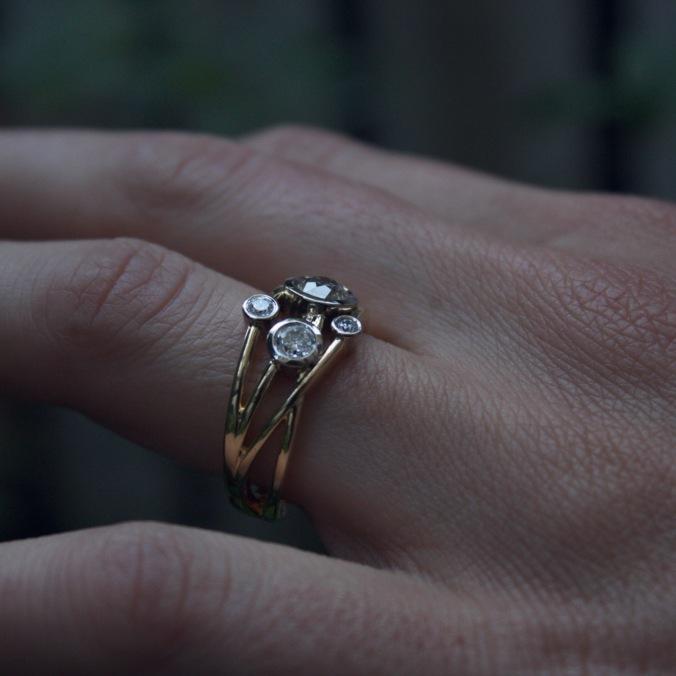 Patience Jewellery Bespoke Diamond Cocktail Ring (6)
