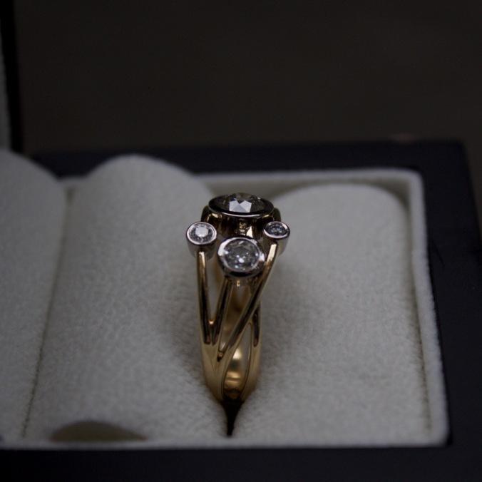 Patience Jewellery Bespoke Diamond Cocktail Ring (9)